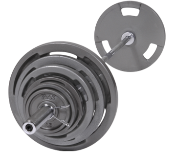 Troy Barbell VTX Olympic 300lb. Weight Set